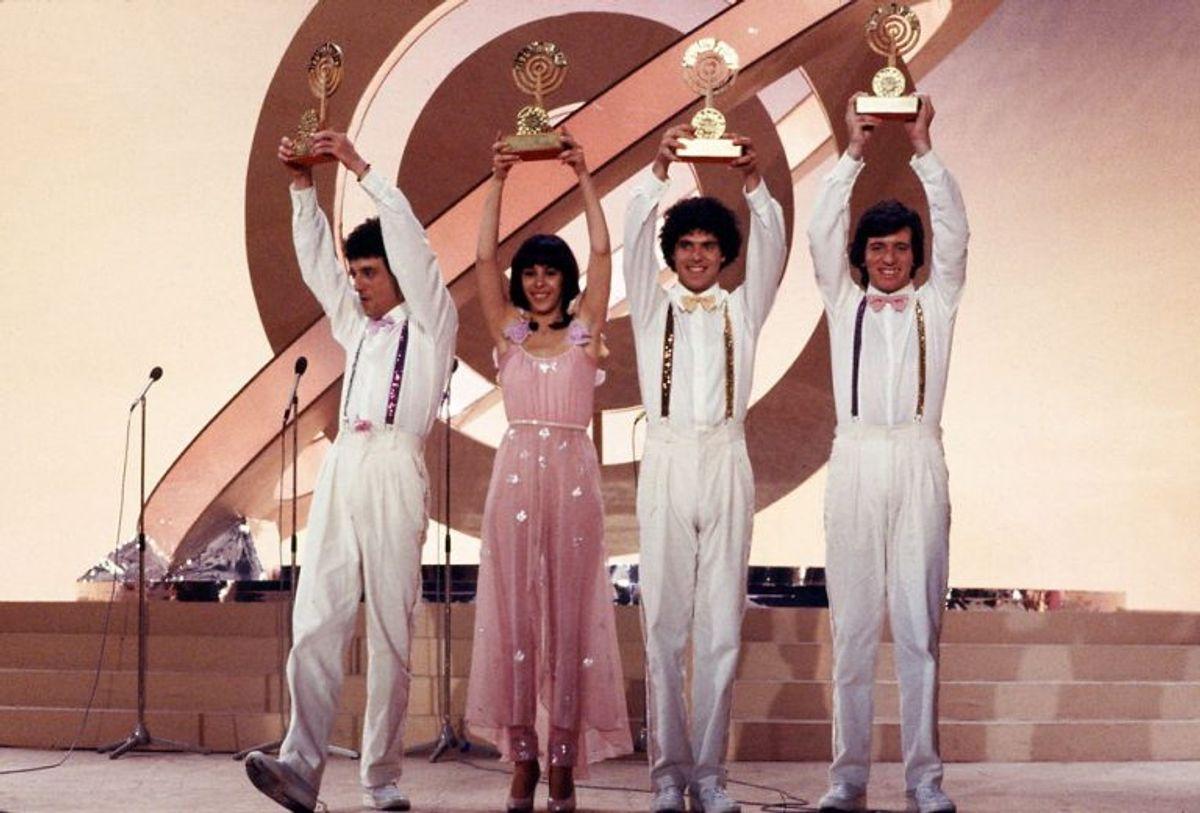 """1979: For andet år i træk vandt Israel. Denne gang med Milk & Honey og nummeret """"Hallelujah"""". Foto: Bent K Rasmussen/Scanpix (Arkivfoto)"""