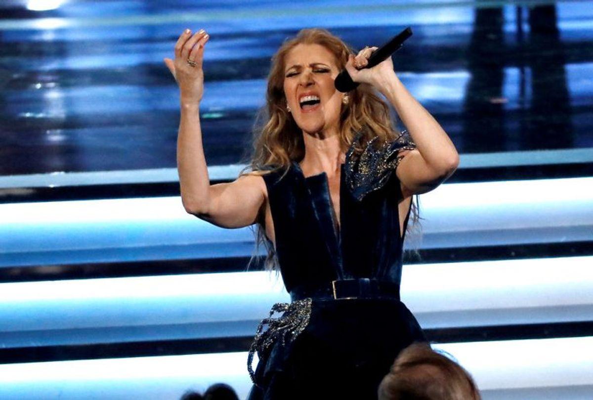 """1988: Celine Dion tog sejren hjem til Schweiz med sangen """"Ne partez pas sans moi"""". Foto: Mario Anzuoni/Scanpix (Arkivfoto)"""