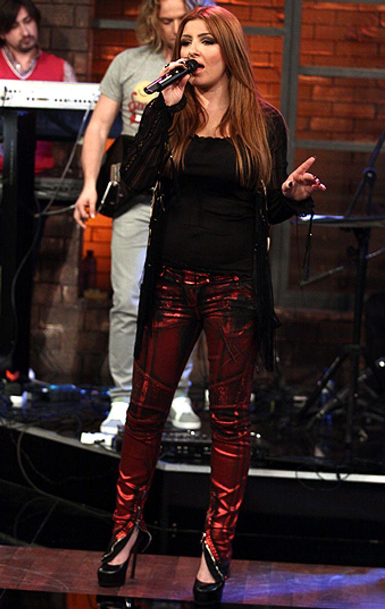 """2005: Helena Paparizou fra Grækenland vandt med nummeret """"My number one"""". Foto: Michalisnicolaou/Wikipedia (Arkivfoto)"""