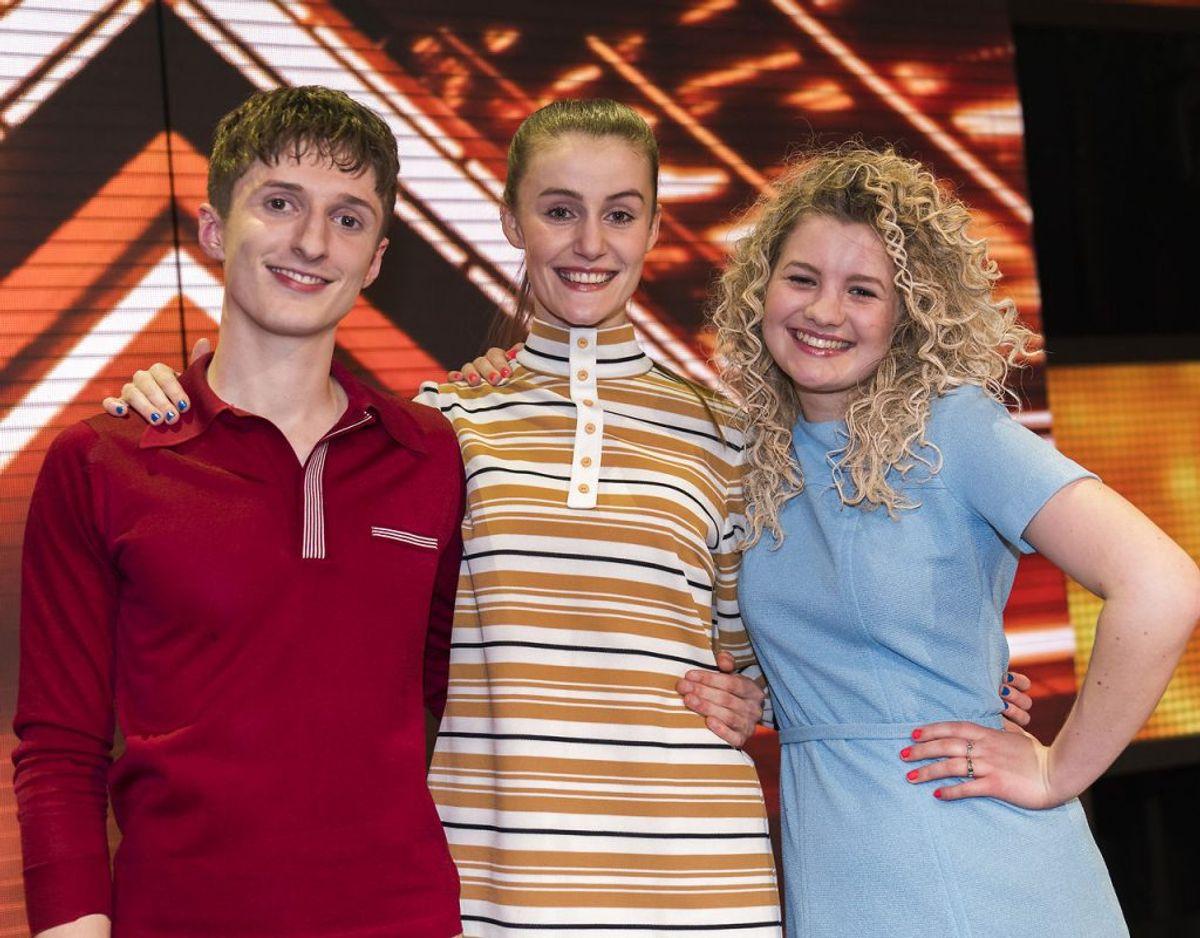 Place on Earth ser fordele og udfordringer i at stille op som gruppe i X Factor finalen. Foto: Martin Sylvest/Scanpix Ritzau.
