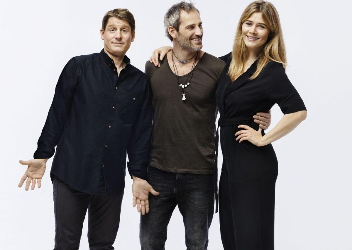 Oliver Bjerrehuus skal spille sammen med Robert Hansen og Sofie Lassen Kahlke. Foto: Miklos Szabo.