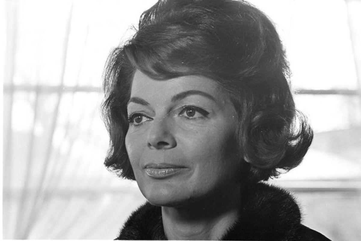 """1956: Lys Assia var den første vinder af Eurovision Song Contest. Hun vandt med sangen """"Refrain"""". Foto: Scanpix (Arkivfoto)"""