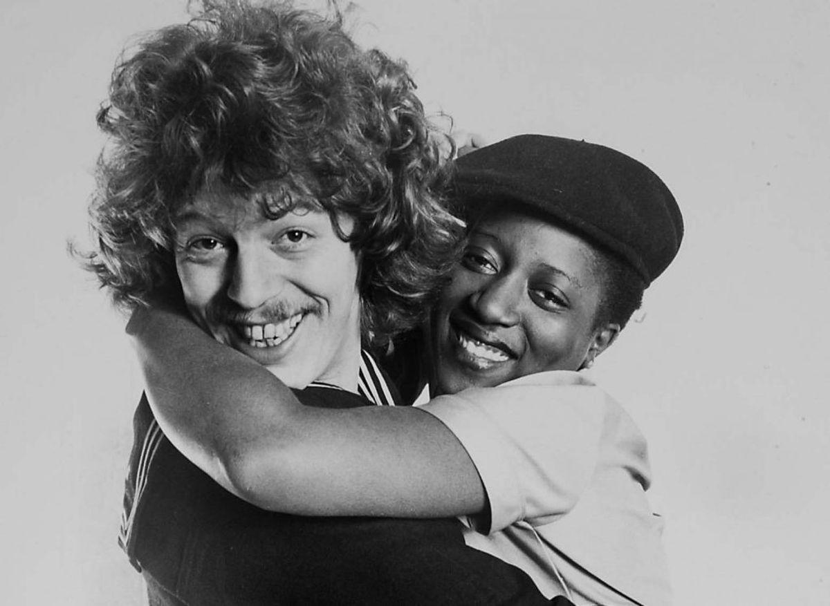 """I 1981 vandt Tommy Seebach og Debbie Cameron med """"Krøller eller ej"""". Teksten var skrevet af Keld Heick. Foto: DR (Arkivfoto)"""