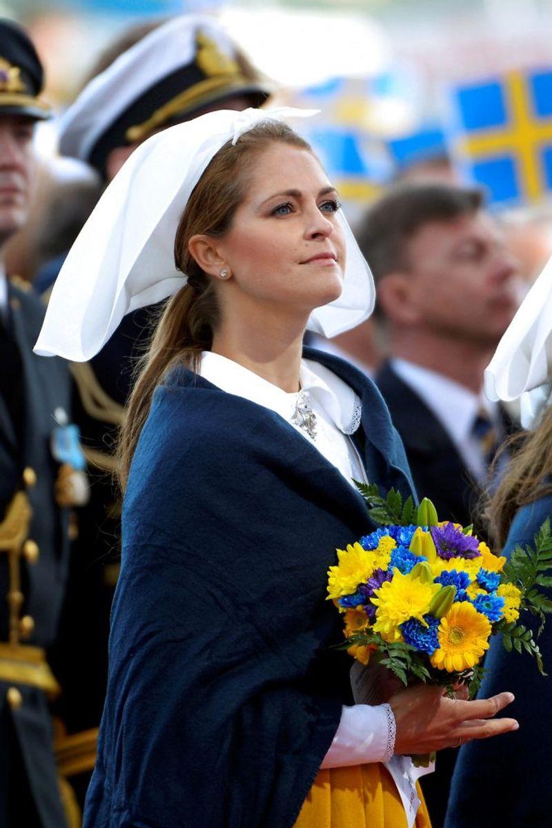 Her ses den svenske prinsesse ved fejringen af nationaldagen tilbage i juni 2017. Foto: Maja Suslin/Scanpix (Arkivfoto)