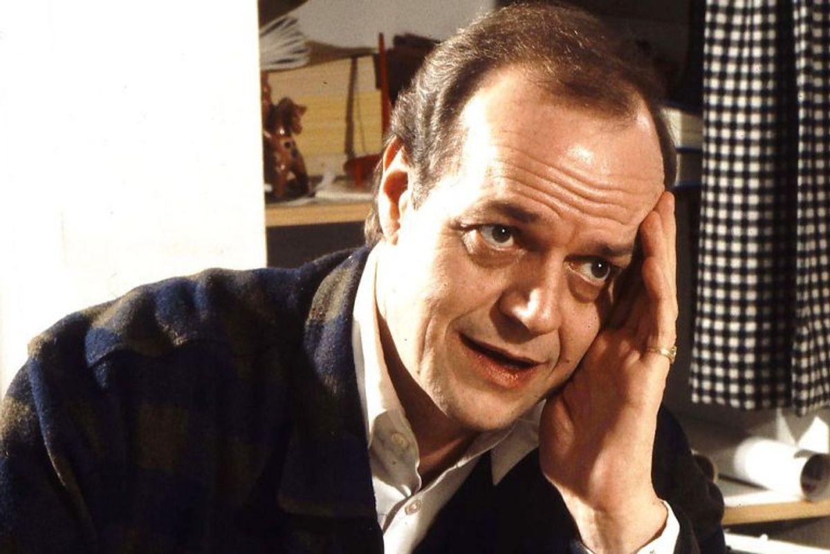 Jørgen Buckhøj spillede Mads Skjern. Han døde den 13. april 1994 i en alder af 59 år. Foto: Leif Nyholm/Scanpix (Arkivfoto)