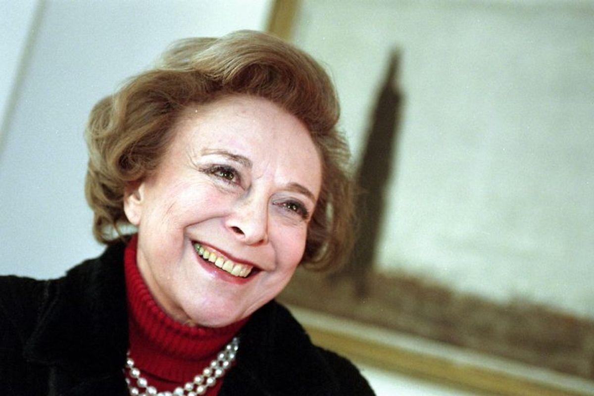 Helle Virkner spillede Elisabeth. Hun døde den 10. juni 2009 i en alder af 83 år. Foto: JØRGEN JESSEN/Scanpix (Arkivfoto)