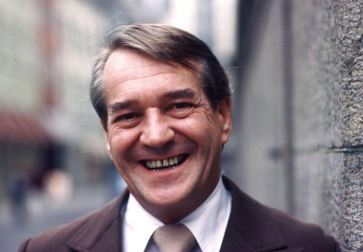 Axel Strøbye spillede sagfører Viggo Skjold-Hansen. Han døde den 12. juli 2005. Han blev 77 år. Foto: Per Pejstrup/Scanpix (Arkivfoto)