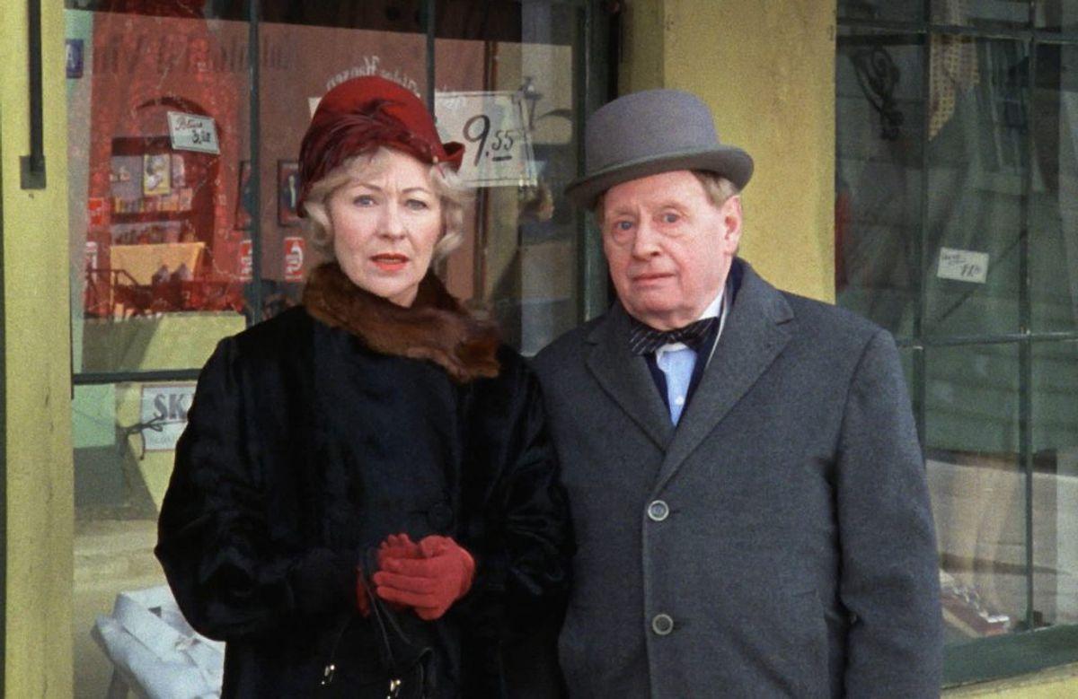 Arthur Jensen spillede hr. Schwann. Han døde den 28. november 1981. Han blev 84 år. Foto: DR (Arkivfoto)