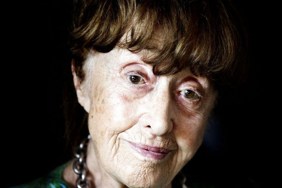 Vera Gebuhr spillede Inger Jørgensen. Hun døde den 22. december 2014 i en alder af 98 år. Foto: Camilla Rønde/Scanpix (Arkivfoto)