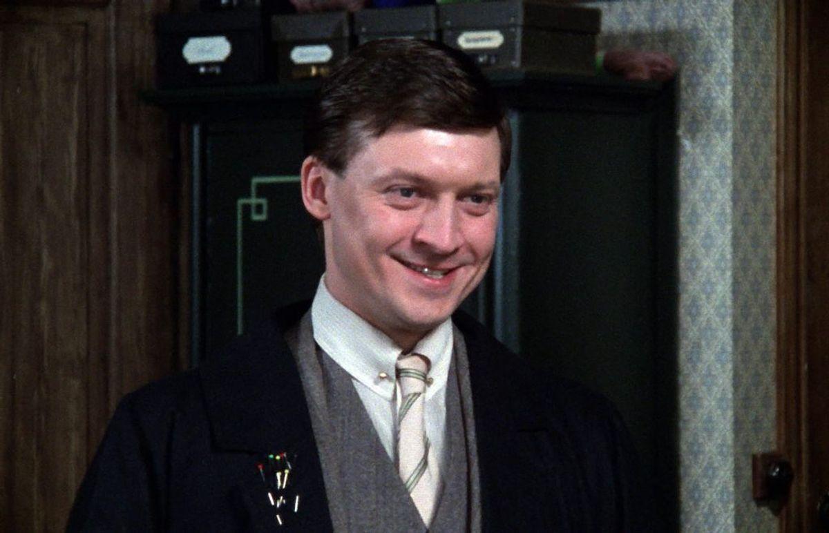 Esper Hagen spillede Arnold Vinter. Han døde den 24. januar 2015 i en alder af 66 år. Foto: DR (Arkivfoto)
