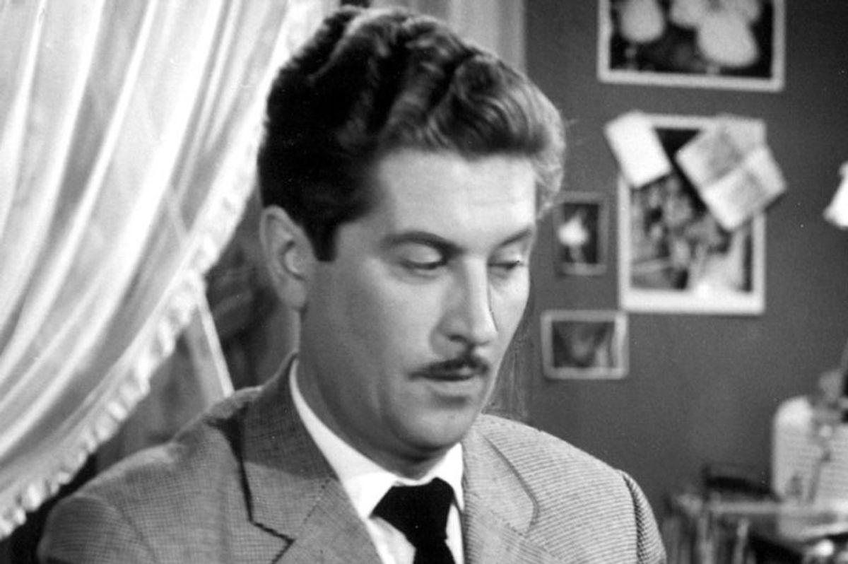 Preben Mahrt spillede indehaver af Damernes Magasin, Albert Arnesen. Han døde den 19. december 1989. Han blev 69 år. Foto: Scanpix (Arkivfoto)