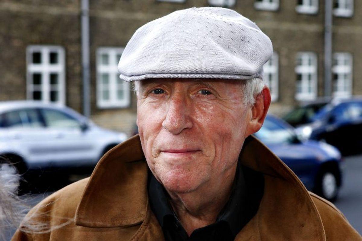 John Martinus spillede Ingeborg Skjerns eksmand, Holger. Han døde den 17. august 2016. Han blev 77 år. Foto: Claus Bech Andersen/Scanpix (Arkivfoto)