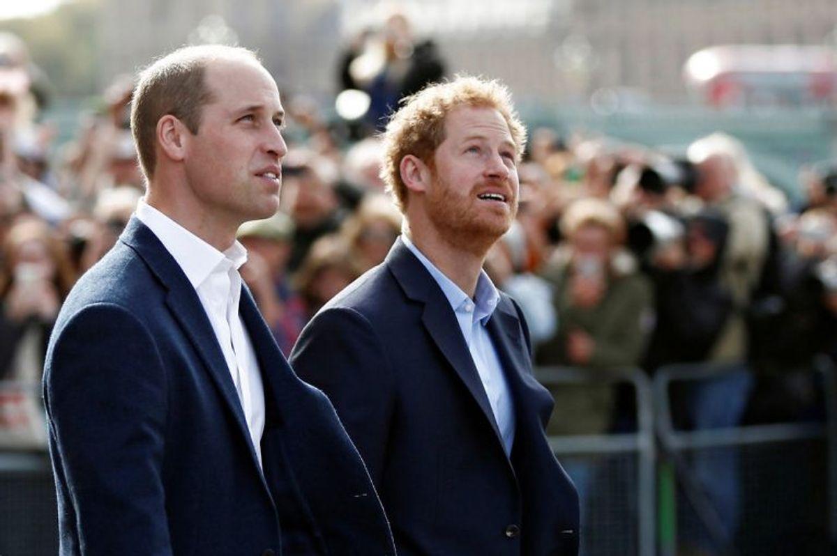 Det britiske kongehus kan også bryste sig af flere flyvekyndige prinser. Foto: STEFAN WERMUTH/Scanpix (Arkivfoto)