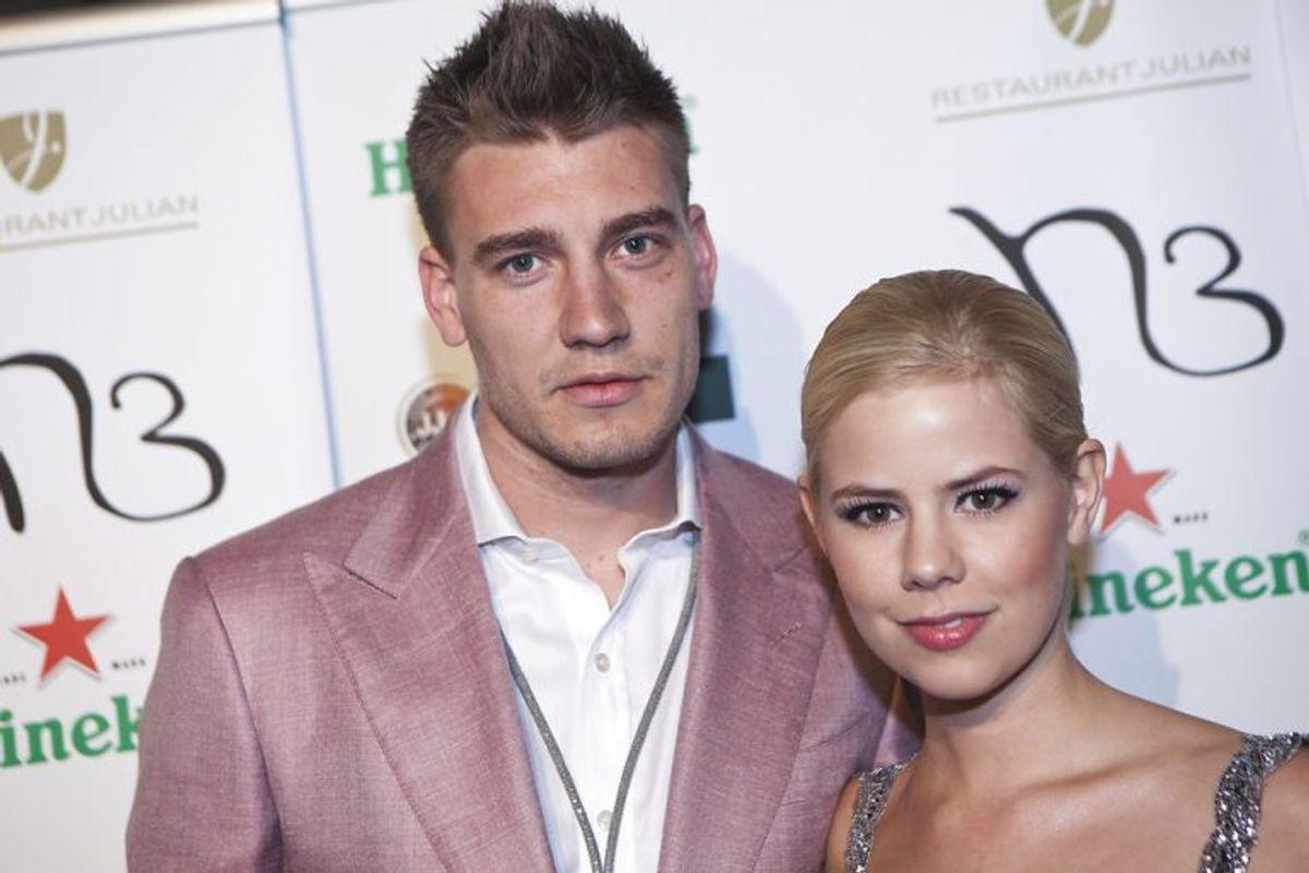 Nicklas Bendtner har tidligere dannet par med Julie Zangenberg. Foto: Martin Sylvest Andersen/Scanpix (Arkivfoto)