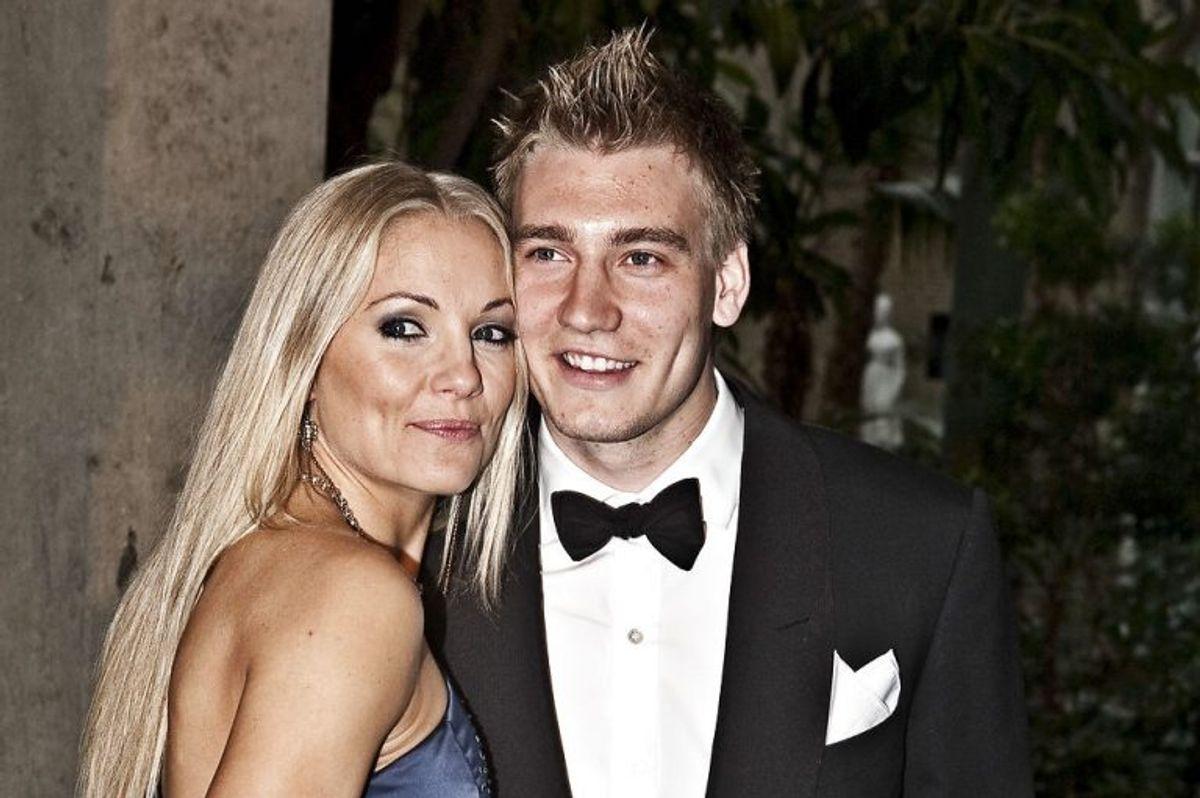 Nicklas Bendtner har også dannet par med Caroline Fleming. Foto: Teitur Jonasson/Scanpix (Arkivfoto)