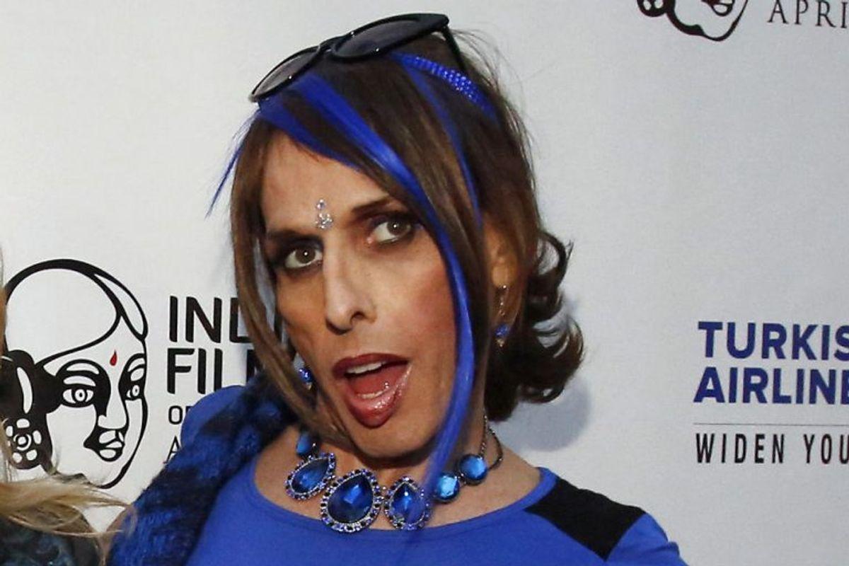 Den amerikanske skuespiller, musiker og aktivist for transkønnede, Alexis Arquette, døde den 9. september 2016 i en alder af 47. Foto: Mario Anzuoni/Scanpix.