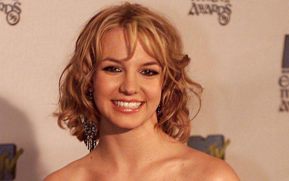 Sådan så Britney Spears ud, da hun fik sin gennembrud i 1999 med Baby one more time. Foto: FERRAN PAREDES/Scanpix (Arkivfoto)