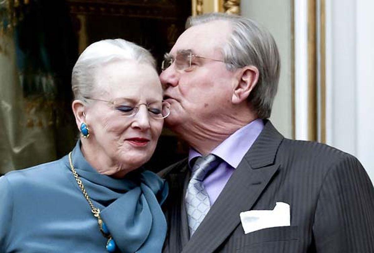 Prins Henrik vil tilsyneladende ikke ses offentligt sammen med dronning Margrethe. Foto: Keld Navntoft/Scanpix (Arkivfoto)