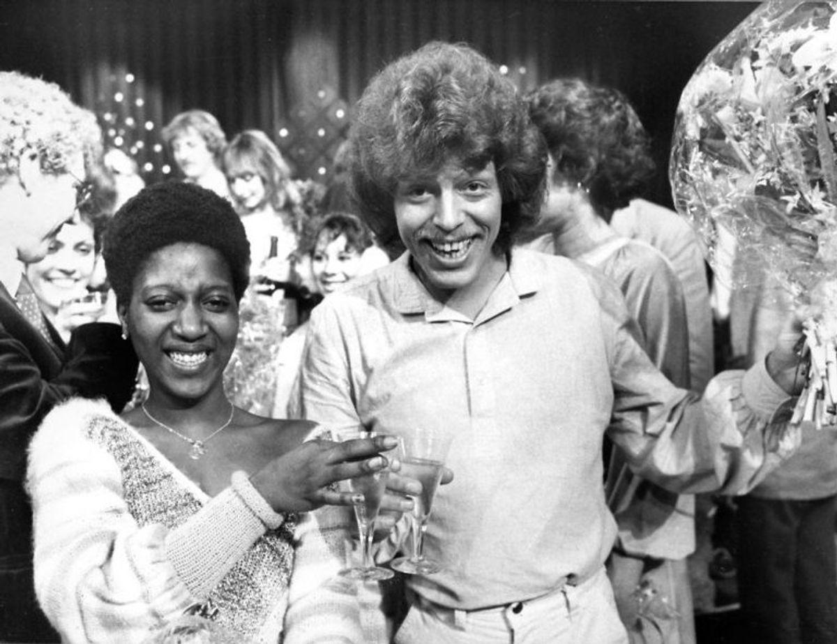 Tommy Seebach og Debbie Cameron vandt Dansk Melodi Grand Prix 1981. Foto: Henning Thempler/Scanpix (Arkivfoto)