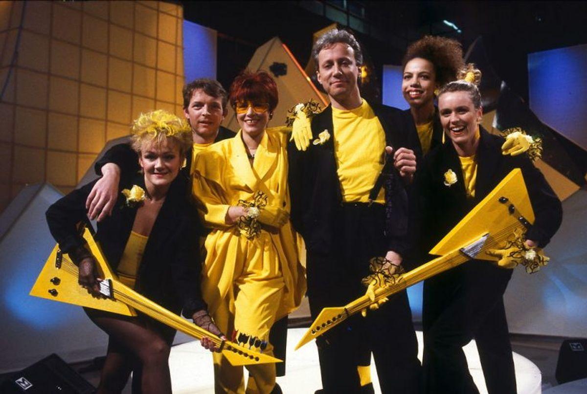 Kirsten & Søren vandt i 1988 for tredje gang Dansk Melodi Grand Prix. Foto: Claus Bjørn Larsen/Scanpix (Arkivfoto)