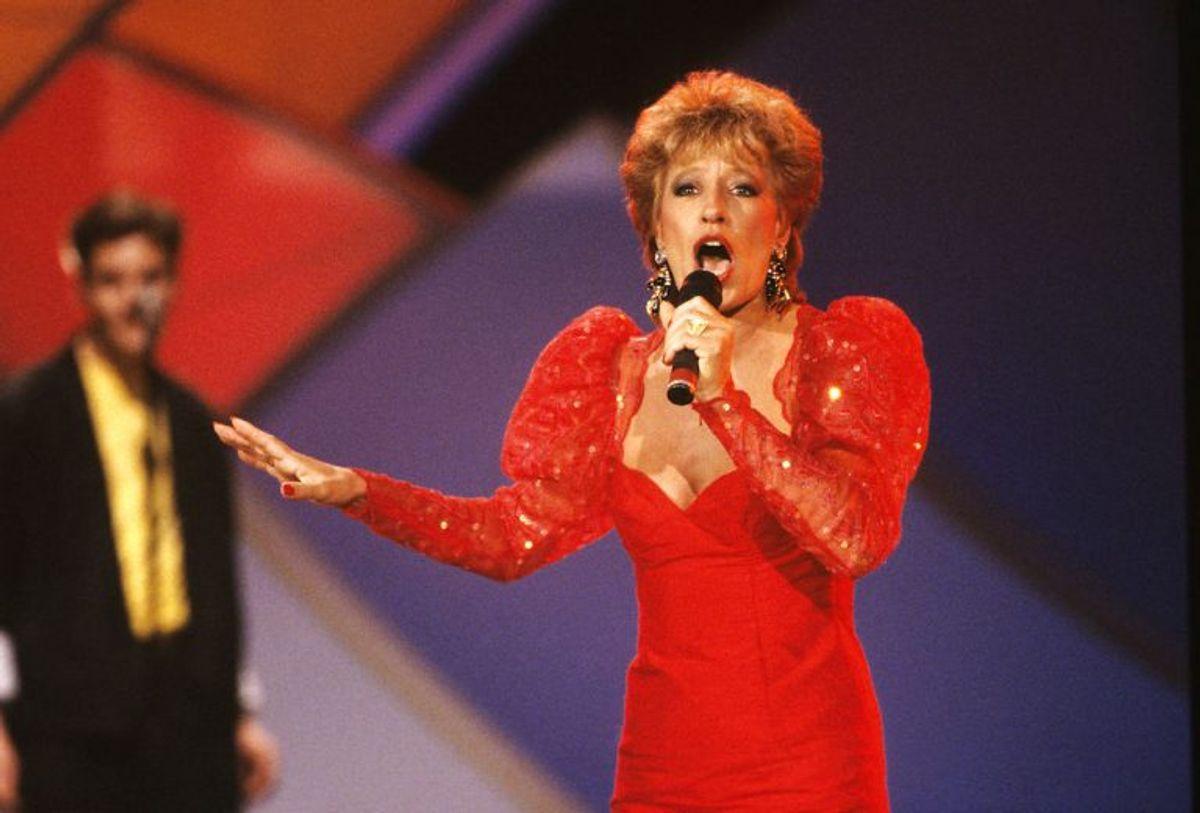 """Birthe Kjær vandt Dansk Melodi Grand Prix med sangen """"Vi maler byen rød"""" i 1989. Foto: Claus Bjørn Larsen/Scanpix (Arkivfoto)"""