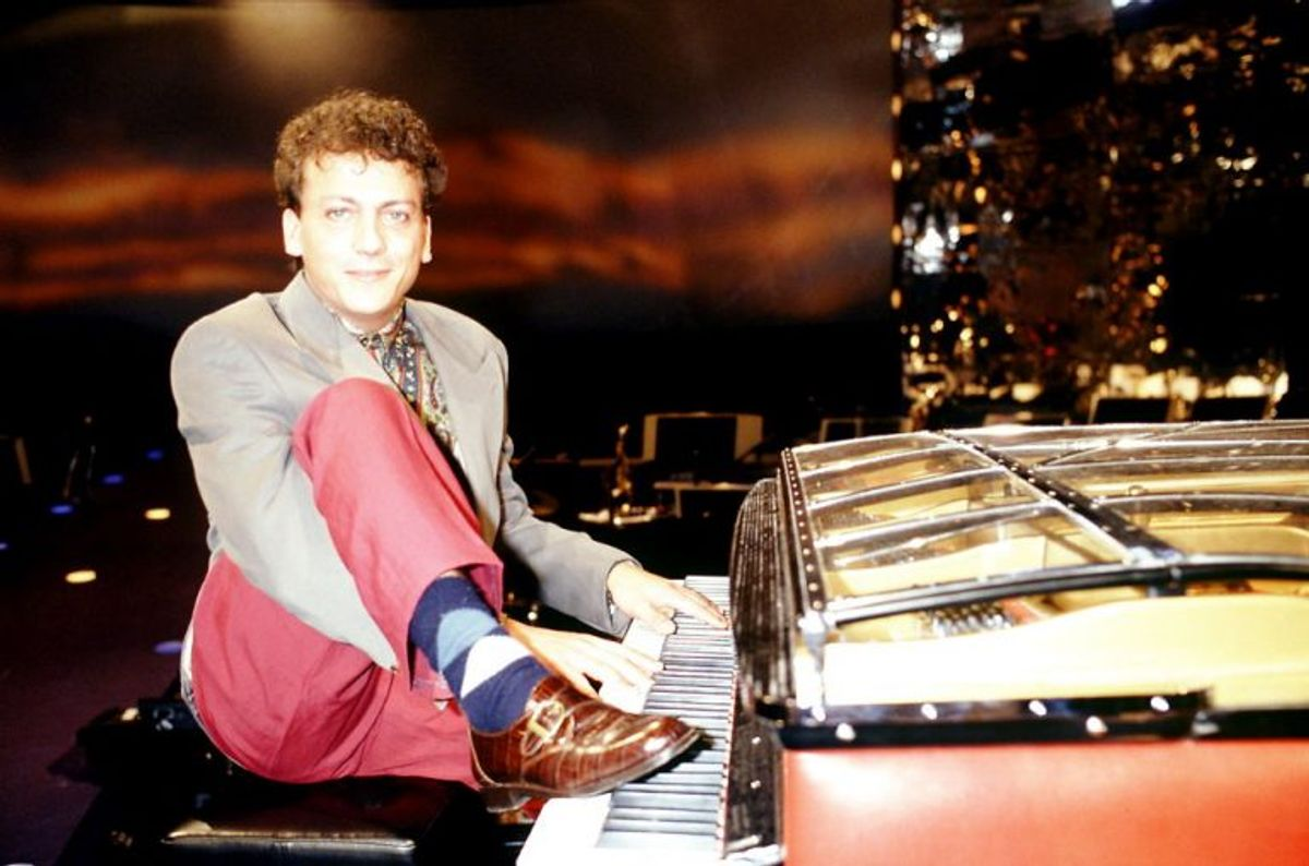 Anders Frandsen vandt Dansk Melodi Grand Prix 1991. Foto: Linda Kastrup/Scanpix (Arkivfoto)