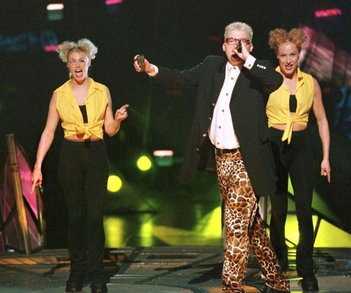 Kølig Kaj vandt i 1997 med Stemmen i mit liv. Foto: NILS MEILVANG/Scanpix (Arkivfoto)