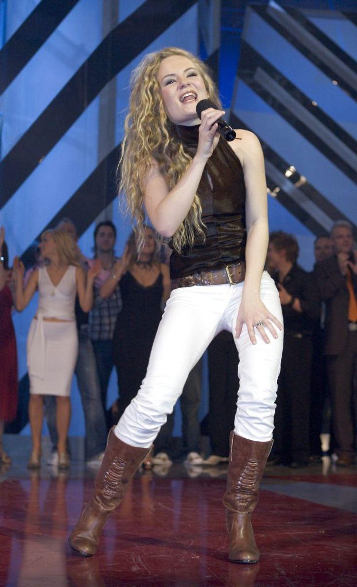 Sidsel Ben Semmane vandt i 2006 Dansk Melodi Grand Prix med Twist of love. Foto: Henning Bagger/Scanpix (Arkivfoto)