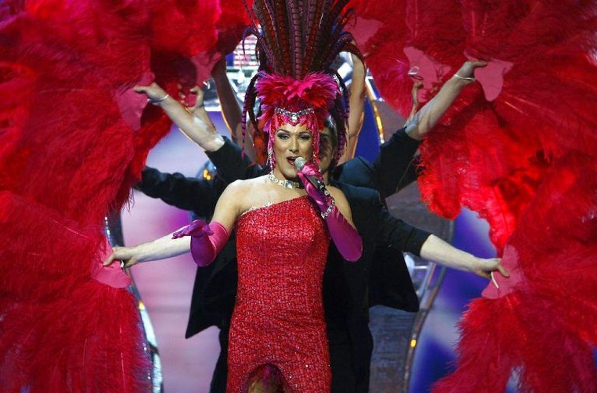 "DQ vandt i 2007 med nummeret ""Drama queen"". Foto: BOB STRONG/Scanpix (Arkivfoto)"