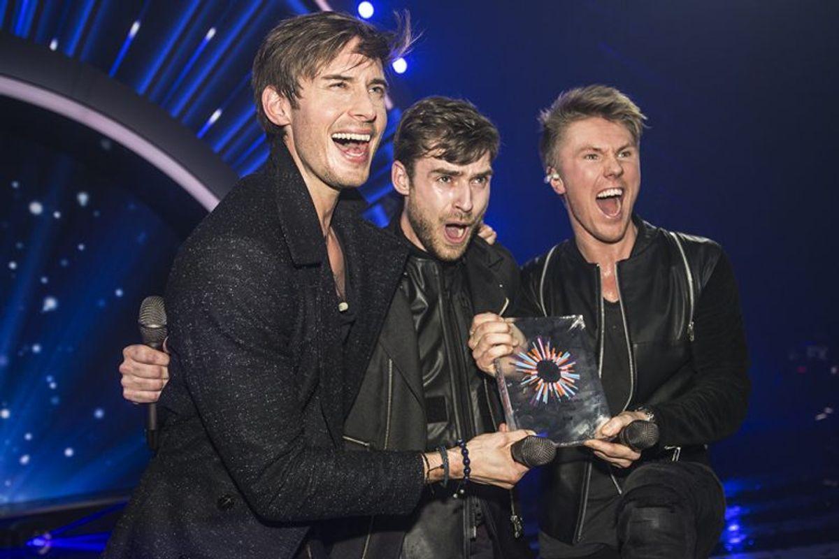 """I 2016 vandt Lighthouse X med sangen """"Soldiers of love"""". Det rakte dog ikke til en finaleplads ved Eurovision Song Contest. Foto: René Lind Gammelmark (Arkivfoto)"""