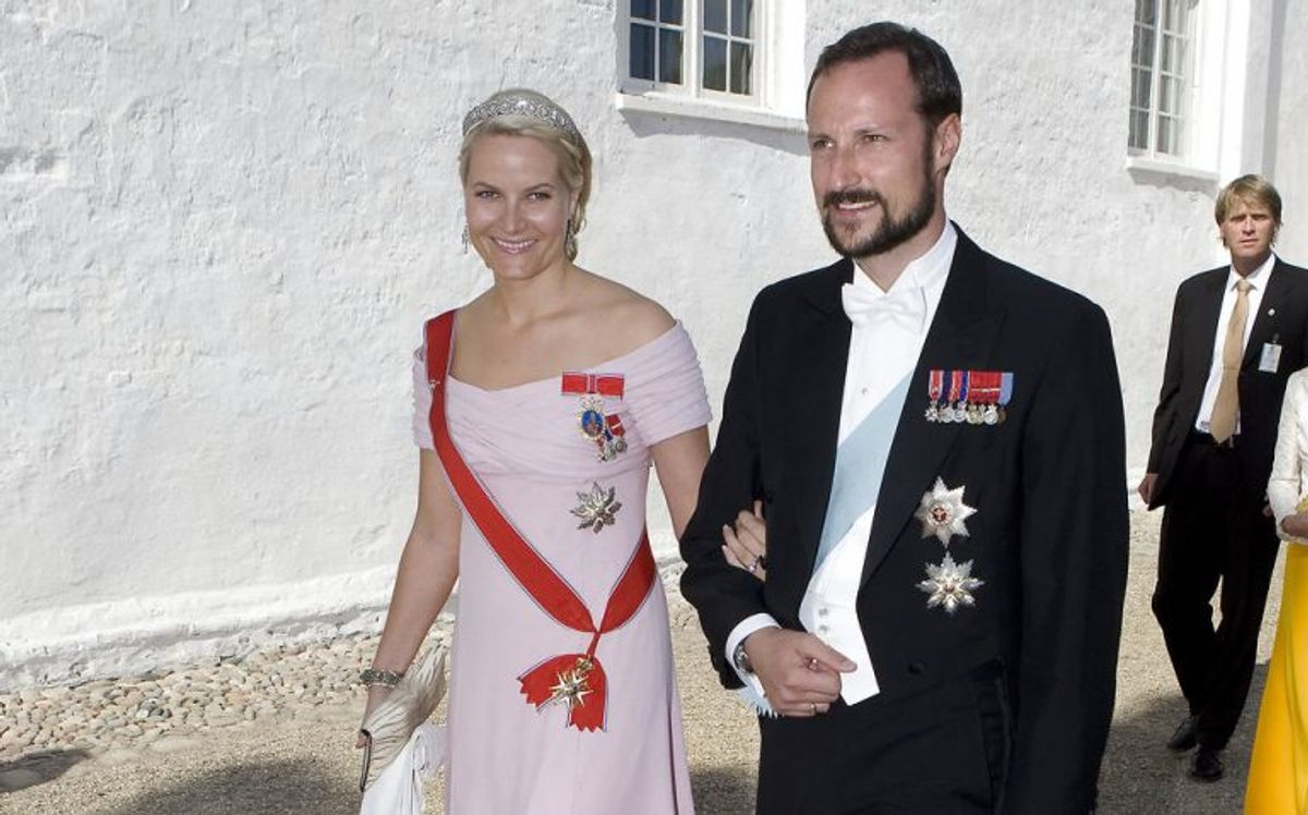Kronprins Haakon og kronprinsesse Mette-Marit Arkivfoto: Søren Bidstrup/Scanpix (Arkivfoto)