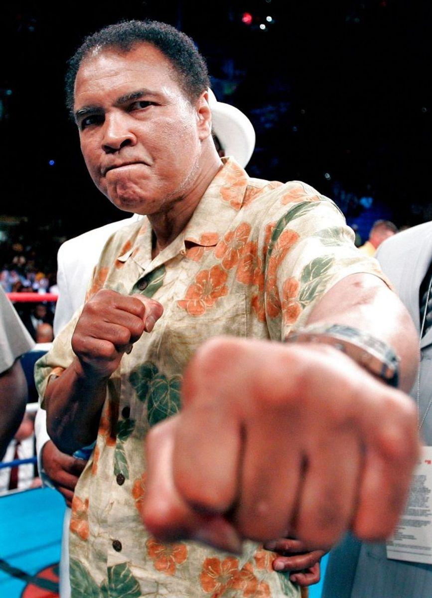 Muhammad Ali er død. Han blev 74 år gammel. Foto: GARY HERSHORN/Scanpix (Arkivfoto)