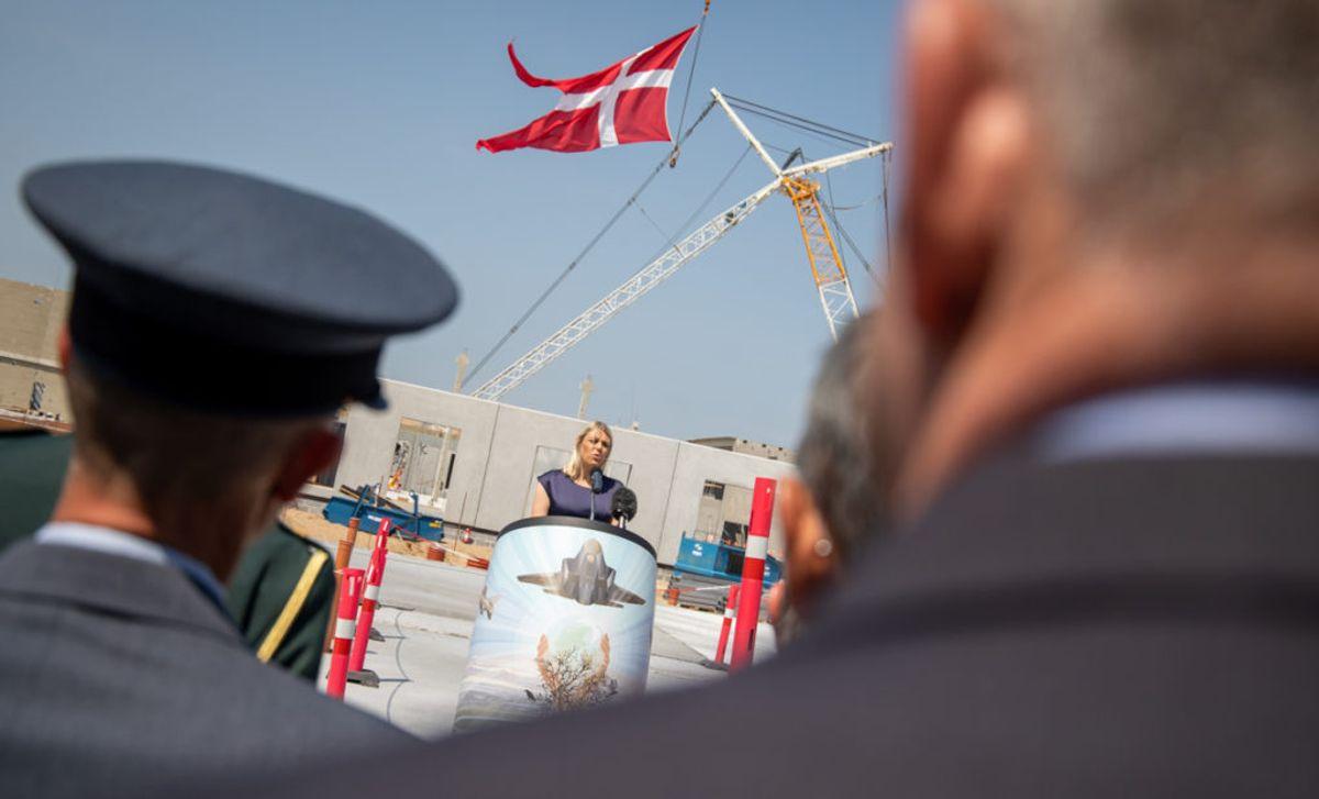 Forsvarsminister Trine Bramsen (S). Foto: Simon Elbeck / Forsvaret