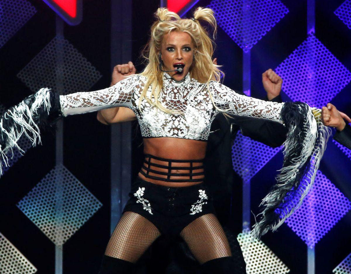 Britney Spears har lagt et foto på Instagram, hvor hun har smit toppen. Se det i bunden af artiklen.