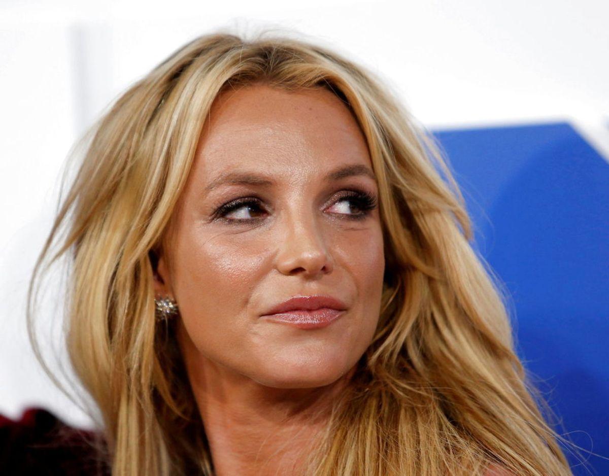 Britney Spears siger selv, at hun nu har det godt lige nu, er et nyt sted i sit liv og hygger sig. Foto: Scanpix/REUTERS/Eduardo Munoz/File Photo/File Photo