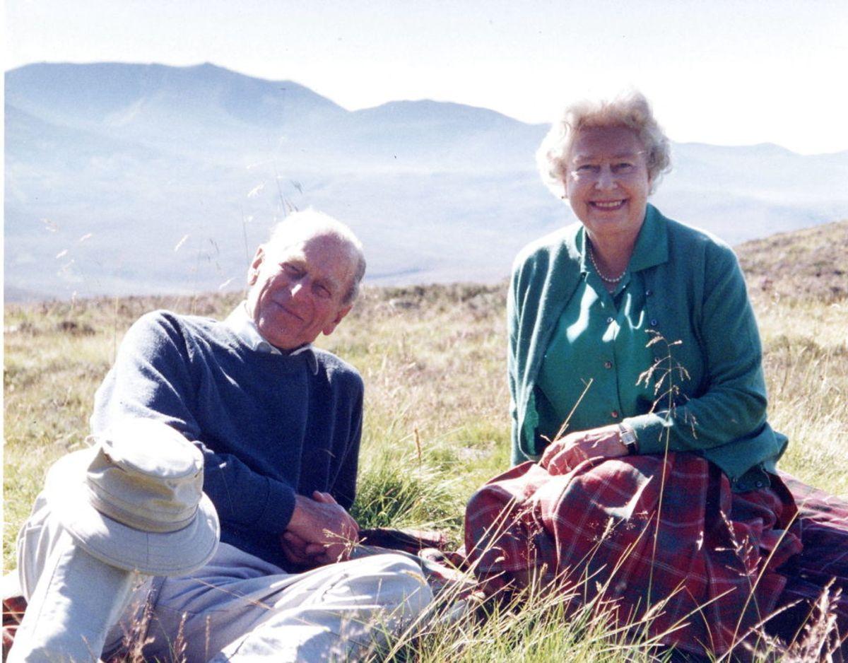 Et af de gode minder har om sin afdøde svigerfar. Billedet har hun selv taget under et besøg hos dronningen og prinsen i Skotland tilbage i 2003. Foto: Scanpix/The Countess of Wessex via PA Wire/Handout via REUTERS