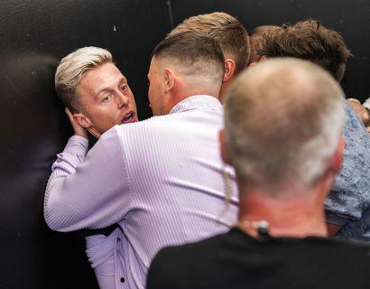Teitur røg i slagsmål ved Reality Awards på Docken i København. Foto: Martin Sylvest/Ritzau Scanpix 2021