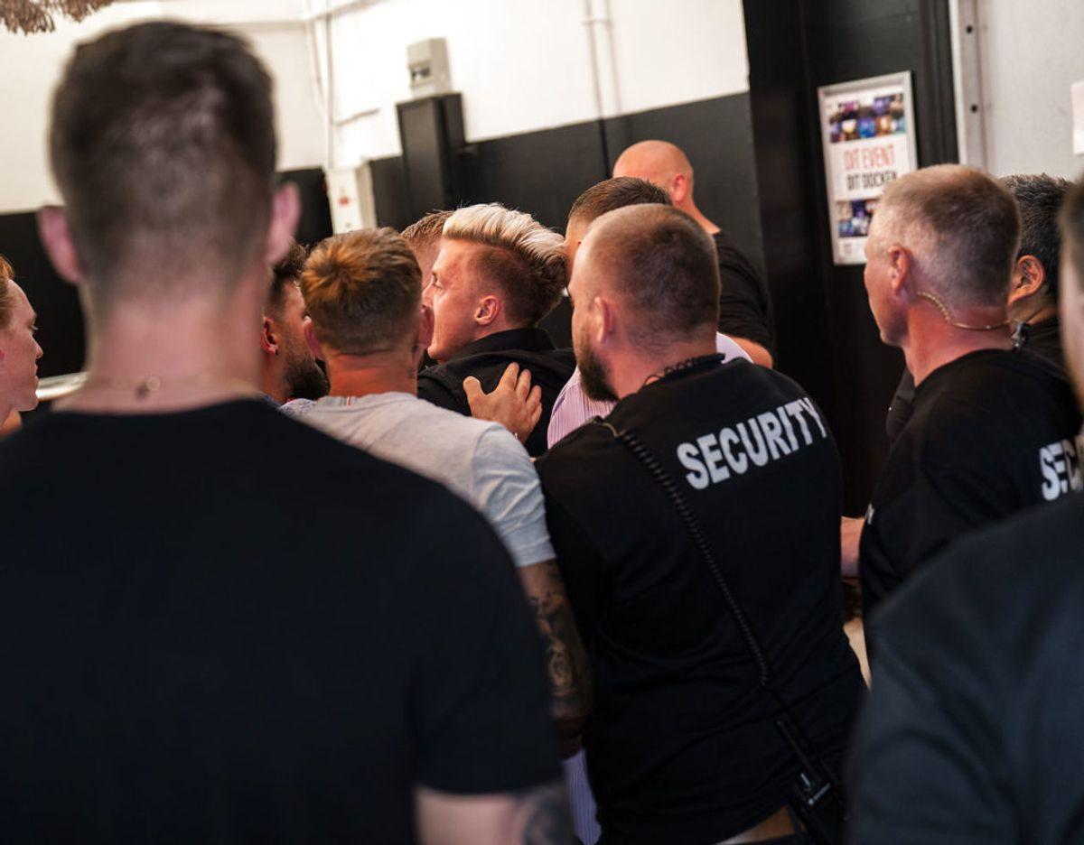 Mange aktører hjalp til med at stoppe infighten. Foto: Martin Sylvest/Ritzau Scanpix 2021