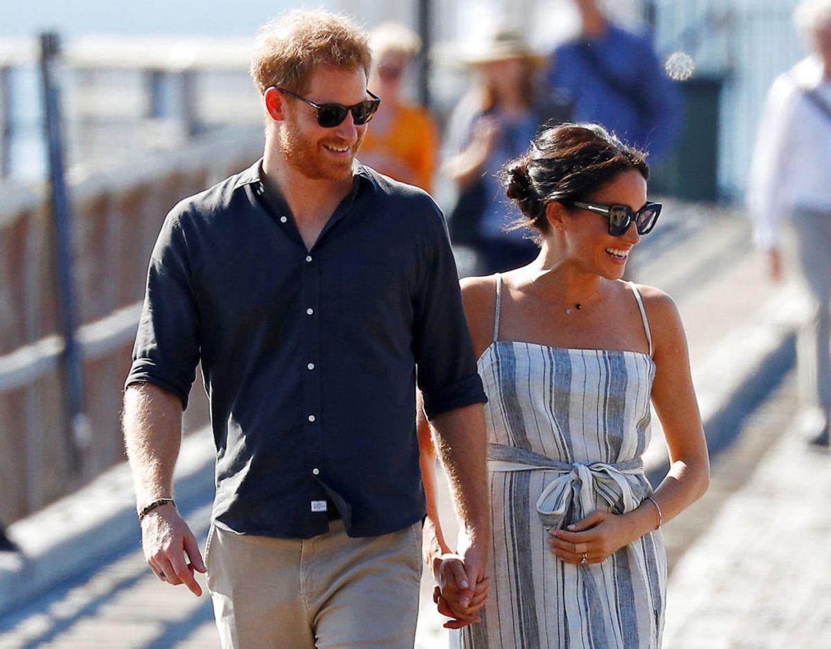 En ny undersøgelse viser, at Harry og Meghan storhitter blandt de unge i Storbritannien. Faktisk overgås de kun af dronningen i popularitet. Foto: Scanpix/REUTERS/Phil Noble/File Photo