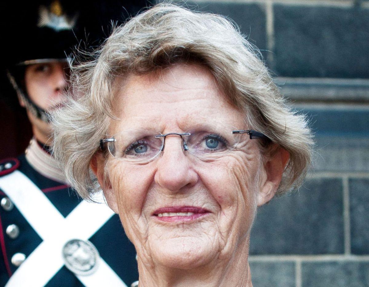 Anne Birgitte Stürup beskrives af nogle som en legende i sit fag. Billedet her er fra 2017, da hun modtog ridderkorset. (Arkivfoto) – Foto: Bjarne Luthcke/Ritzau Scanpix