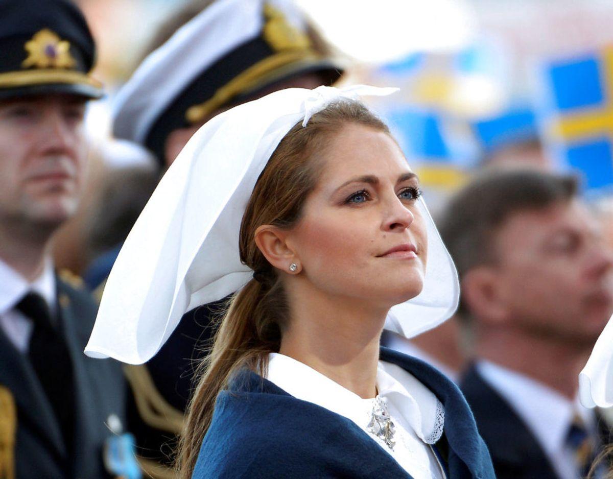 Prinsesse Madeleine sender en særlig hilsen til sin søn. Foto: Tt News Agency/Reuters/Ritzau Scanpix