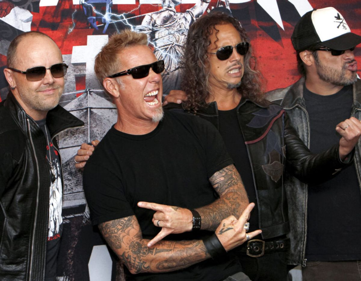 Dansk festival scorer Metallica til koncert i 2022. Foto: Scanpix.