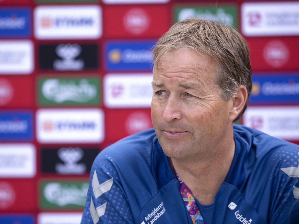 Kasper Hjulmand afslører, at hans farbror døde som følge af et hjertestop på fodboldbanen. Foto: Scanpix.