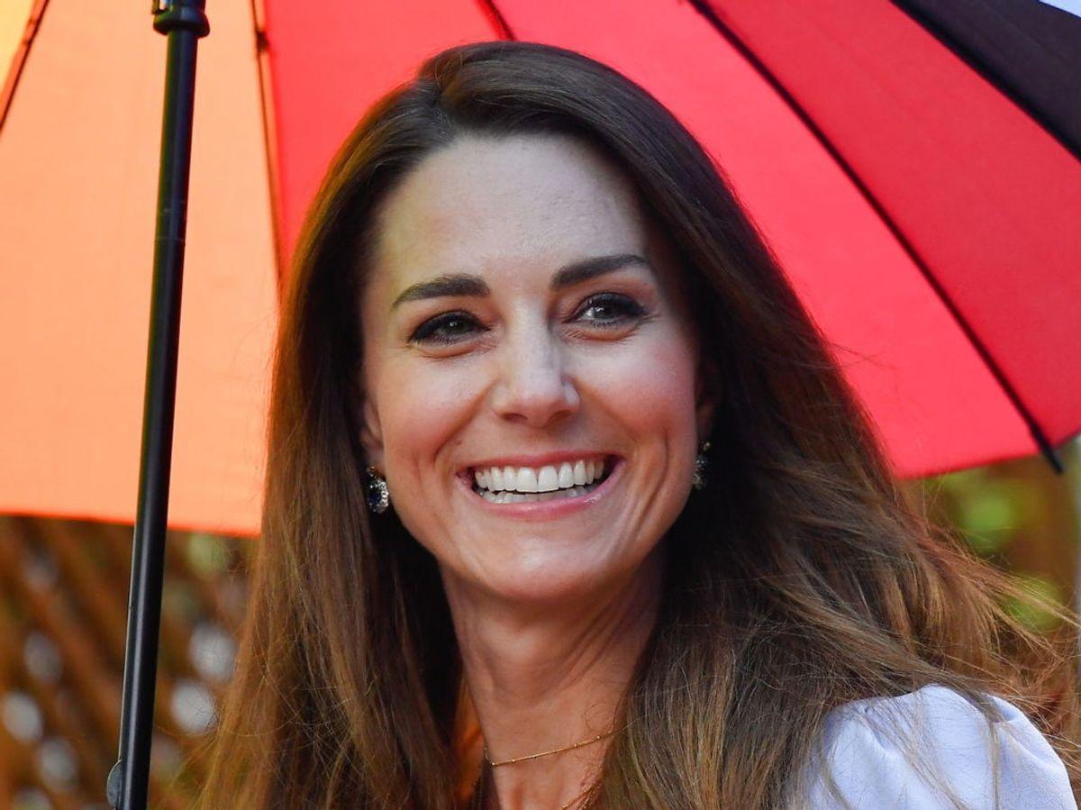 Hertuginde Kate er gået i corona-isolation efter kontakt med en smittet. Foto: Scanpix.