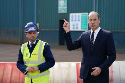 Under et besøg i Skotland kom prins William med store nyheder. Foto: Andrew Milligan/Pool via REUTERS / Scanpix