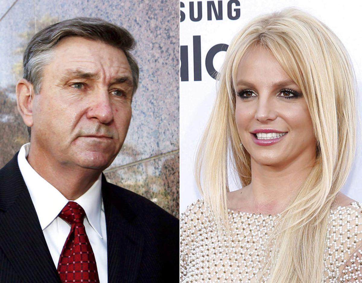 Jamie Spears har siden 2008 siddet på og administreret sin datters pengekasse og forretningsmæssige muligheder. Foto:Uncredited/Ritzau Scanpix