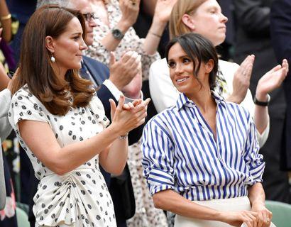 Særligt efter Harry og Meghans datter Lilibet kom til verden den 4. juni, skulle Kate jævnligt have rakt sin hånd ud mod Meghan. Foto:  Scanpix/REUTERS/Toby Melville