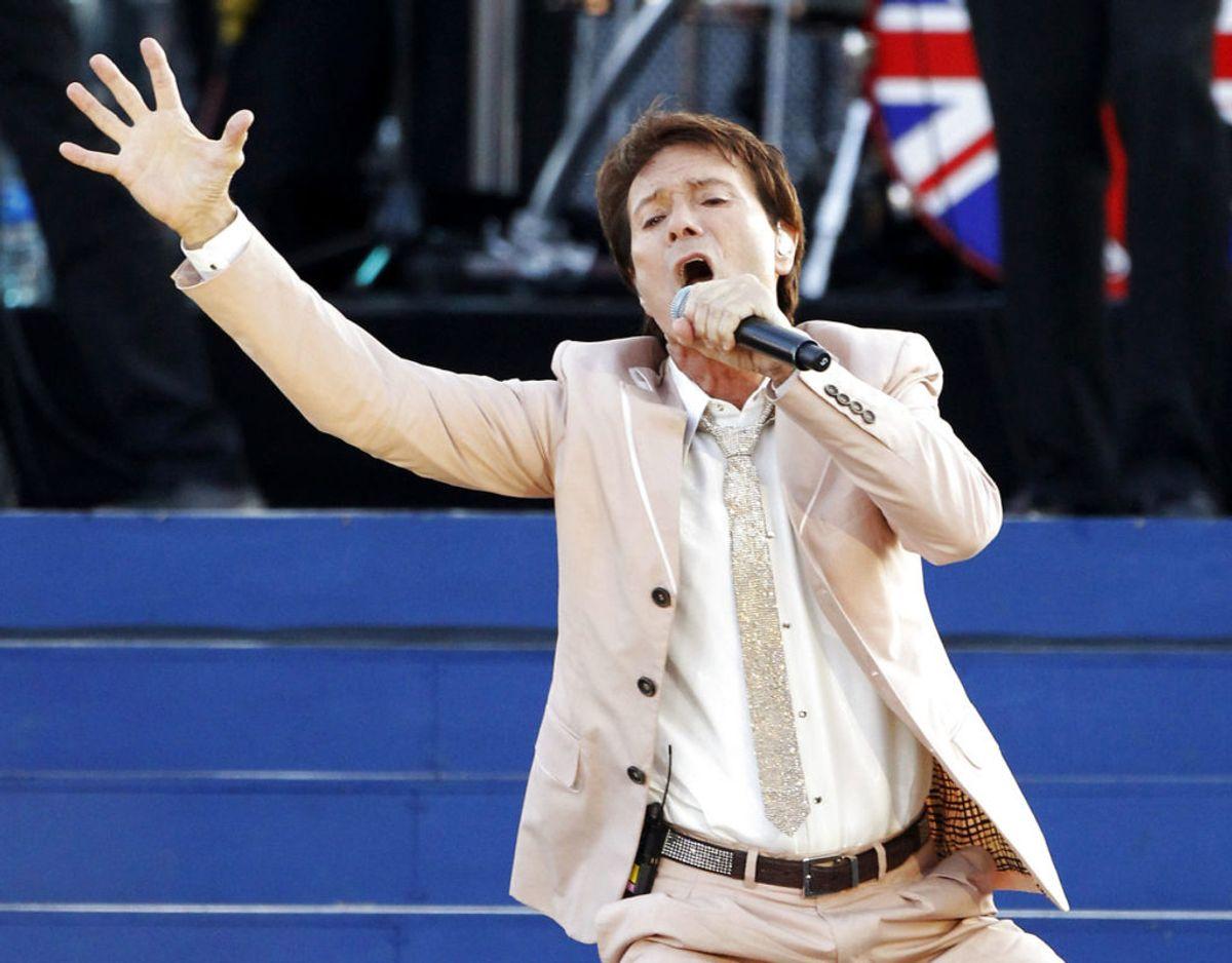 Billedet her er fra dronningens 60 års jubilæumskoncert i 2012, hvor balndt andet Cliff Richard var på scenen. Foto: Scanpix/REUTERS/David Moir/Files