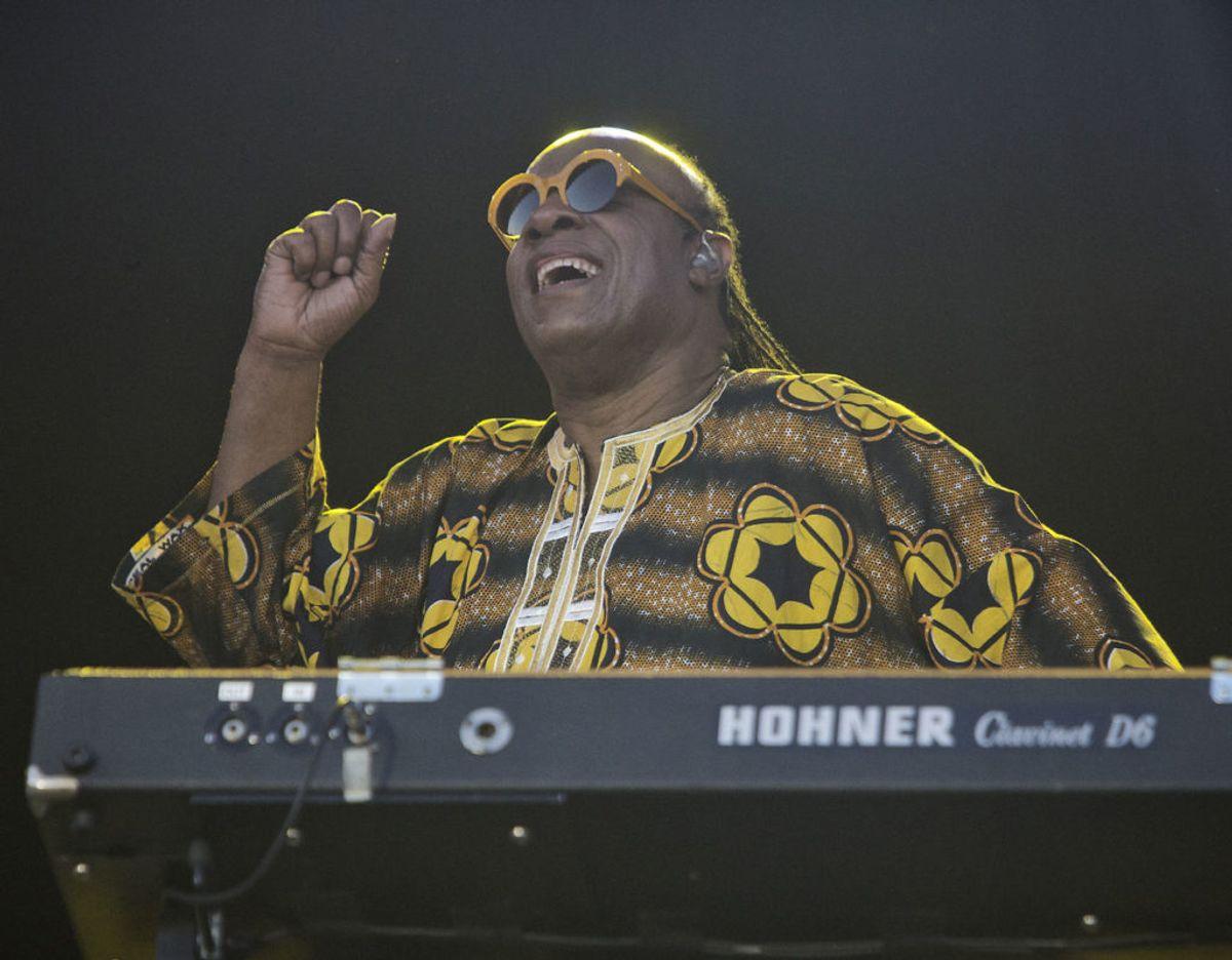 Stevie Wonder er også en af de store kunstnere, BBC gerne ser optræde ved koncerten. Foto: Betina Garcia/Ritzau Scanpix