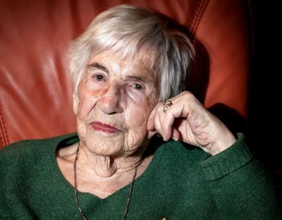 Esther Bejarano er død, 96 år gammel. Foto: Axel Heimken / dpa / Ritzau Scanpix